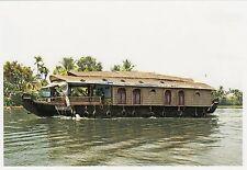 (82111) Postcard India Kerala Backwaters Boat #8 - un-posted