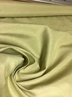 BEAUTIFUL PASTEL GREEN POLYESTER SILK EFFECT FABRIC 3.9 METRES