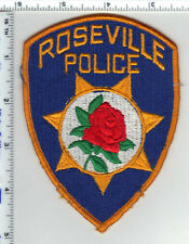 Roseville Police (California) Shoulder Patch - new from the Early 1980's