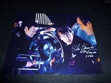 CHRIS MUNCKE signed Original Autogramm 20x25 cm JAMES BOND 007