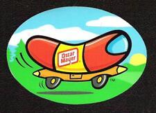 Classic Oscar Mayer Wienermobile Sticker vintage inspired, Sports Car Racing