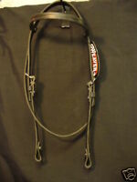 NEW WEAVER LEATHER BLACK HEADSTALL WESTERN HORSE WORKING TACK