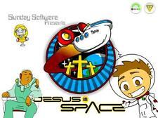 Jesus in Space - 3 Bible Lessons Fun Windows PC Game Church Sunday School CD-ROM