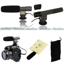SG-108 Shotgun DV Stereo Microphone MIC for Canon 7D 80D 70D 700D 5D Mark II III