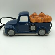 Scentsy Pumpkin Delivery Wax Warmer Blue 1950s Chevy Light Up Retro Collection