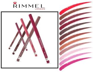 Rimmel Exaggerate Automatic Full Color Lipliner Choose Shade Below