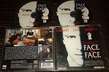 FACE A FACE TRES RARE FILM EN DOUBLE CDI INTERACTIF VIDEO CD