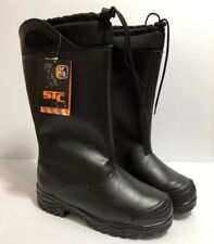 STC FOOTWEAR Titanium Professional Mining / Oil / Gas Industry Boots Size 9W NIB