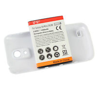 Extended Battery 4300mAh +White Back Cover For Samsung Galaxy S4 SIV mini i9190