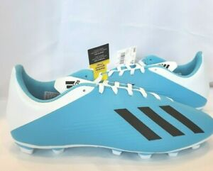 NEW Adidas X 19.4 Fxg J  Soccer Cleats ( F35378 ) SIZE 12