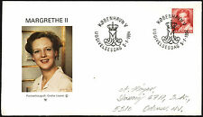 Denmark 1984, 2k70 Queen Margrethe FDC First Day Cover #C40925