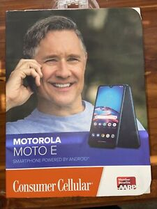 "⚡️Motorola Moto E – 32GB 6.2"" 4G LTE – Consumer Cellular Only - Requires Own Sim"