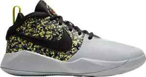 Nike Team Hustle D9 Digi youth boys basketball shoes Grey sneakers CD7025-001