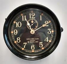 Seth Thomas U.S. Navy Ship'S Mark I Deck Clock - Wwii