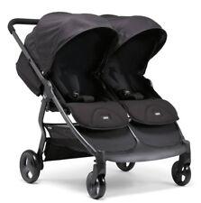 Mamas & Papas Black Jack Armadillo Twin Folding Stroller/Pushchair