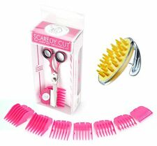 Scaredy Cut Silent Pet Clipper with Conair PRODogs Pet-It Curry Comb for Dogs