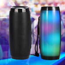 portable Speaker Bluetooth Column Wireless Bluetooth Speaker with LED Light