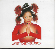 JANET JACKSON - Together Again - CDMS - Virgin - VSCDG 1670 - 1997 - UK