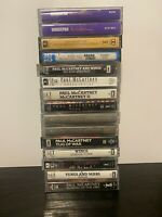 Bundle Of 14 Paul McCartney Wings Cassette Tapes EMI Joblot