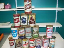 New Listingflat top beer cans lot - Walters, Leinenkugels, Drewrys, Schlitz, Rhinelander