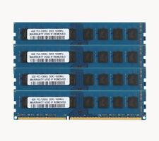 16GB 4X 4GB PC3-12800U DDR3 1600MHz 240PIN For Dell Optiplex 780 790 390 580 990