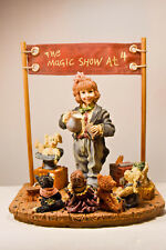 Boyds Bears: The Amazing Bailey. Magic Show at 4 - First Edition/3180 - #3518