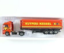 WSI 1:50 Kuypers Kessel MAN TGX XLX 4x2 Volume Star Truck & Trailer 02-1096