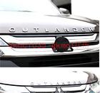 For Mitsubishi Outlander Chrome Car 3D Letters Hood Emblem Logo Badge Stickers