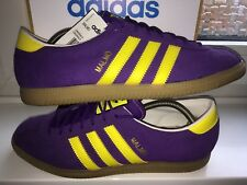 RARE ADIDAS MALMO JAP ATHEN & MUNCHEN SUPER SPEZIAL COLOUR WITH JEANS INDOOR UK9