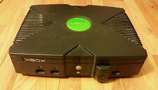 Original Microsoft Xbox Console Video Game System w/ some cables & DVD receiver
