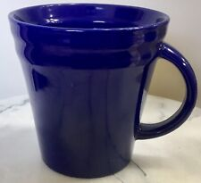 Rachael Ray Cobalt Blue Double Ridge Coffee Mug Large (4 Available)