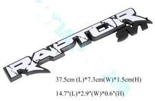 1X RAPTOR SVT F150 2010-2014 Fender Tailgate Emblem Rear Badge Sticker for Ford