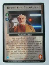 1999 Babylon 5 Ccg - Severed Dreams - Rare Card - Draal The Caretaker