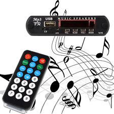 12V USB TF Radio MP3 WMA Lautsprecherbox Decoder Board Audio Modul Music Speaker
