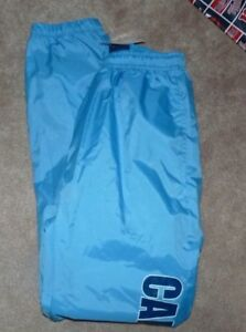 NEW NCAA N North Carolina Tar Heels Wind Pants Youth Boys L 12 14 NEW NWT