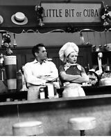 I Love Lucy Little Bit Of Cuba Lucille Ball Desi Arnaz B/W 8x10 Photo