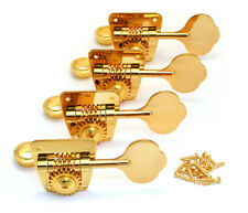 (4) Gotoh FB3 GOLD Vintage Bass Tuners for 70s Fender P/Jazz® TK-0882-002