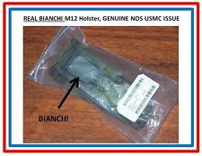M12 Bianchi Holster REAL Bianchi USA In NEW Military Bag USMC USN Military w P38