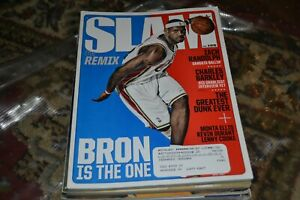 LEBRON JAMES SLAM #106 THE REMIX 2007 CLEVELAND CAVALIERS BRON IS THE ONE MAG