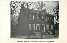 A View Of The Residence Of George Frey, Middletown, Pennsylvania Pa 1907