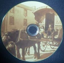 Gypsy Life Romany Travellers Horses Caravan Gipsies 28 Old Vintage Books DVD