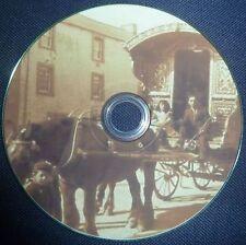 Gypsy Life Romany Travellers Horses Caravan Gipsies 28 Old Vintage Books DVD