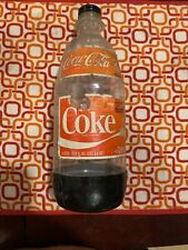 1980's Coca Cola Plastic 2 Liter Bottle No Deposit