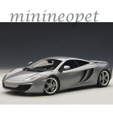 AUTOart 76007 MCLAREN MP4-12C 1/18 DIECAST MODEL CAR METALLIC SILVER