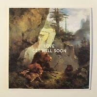 GET WELL SOON : LOVE ♦ CD Album Promo ♦