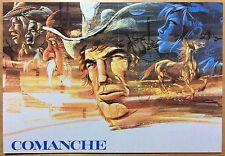 COMANCHE Carte postale Hermann CP n°32 1984 Très bon état