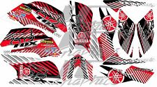 YAMAHA RAPTOR 660R full graphics kit RED 2001 2005