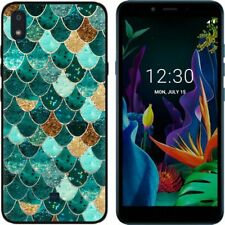 For LG K20 K30 2019 W30 W10 V50S Slim Soft Silicone Painted TPU Matte Case Cover