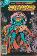 CRISIS ON INFINITE EARTHS #7 (1985) CANADIAN PRICE VARIANT...DEATH OF SUPERGIRL