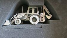 """Case 580E Backhoe - 1/60 - Precision Pewter - """"Hard Hat Collection"""" - MIB"""